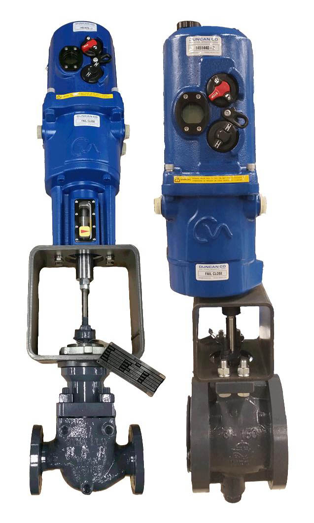 Rotork Electric Actuators Duncanco