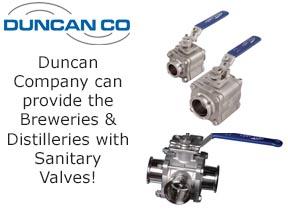 duncan sanitary valves