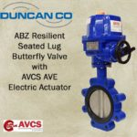 ABZ BUTTERFLY VALVE W AVCS AVE ACTUATOR
