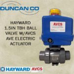 HAYWARD TBH-AVCS AVE ELEC ACTUATOR