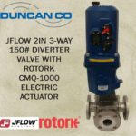 JFLOW-ROTORK DIVERTER VALVE