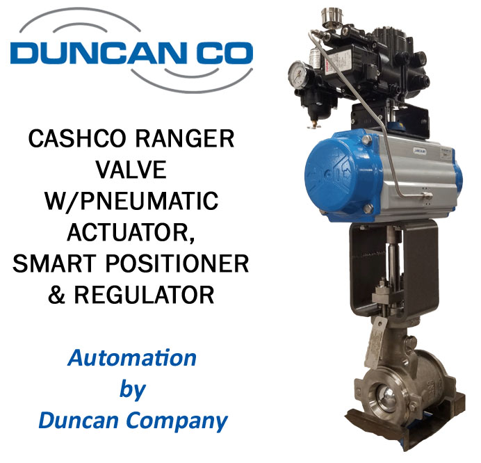 CASHCO RANGER FOR MORE INFORMATION CONTACT US AT WWW.DUNCANCO.COM