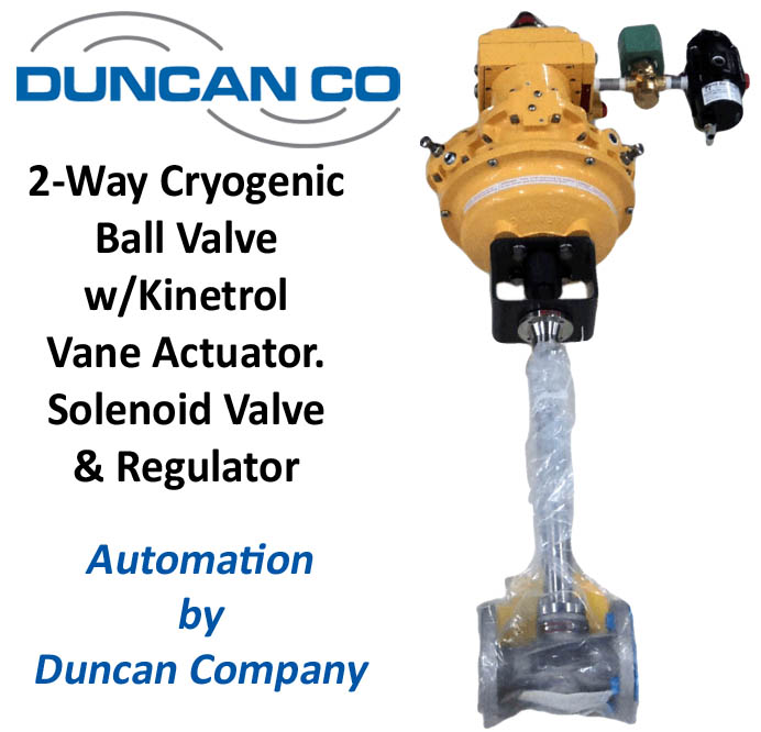 HABONIM CRYOGENIC FOR MORE INFORMATION CONTACT US AT WWW.DUNCANCO.COM