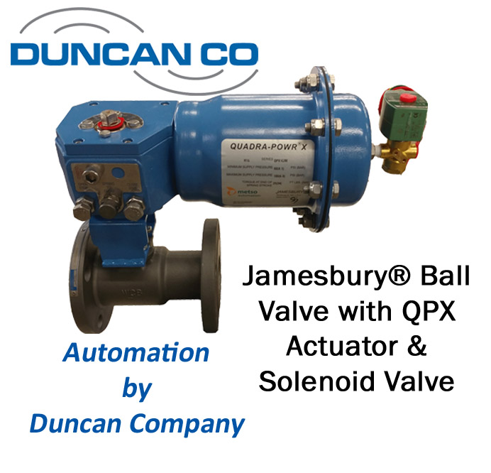 JAMESBURY FOR MORE INFORMATION CONTACT US AT WWW.DUNCANCO.COM