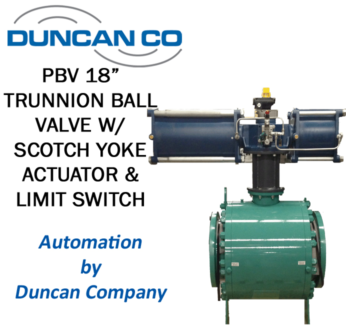 PBV FOR MORE INFORMATION CONTACT US AT WWW.DUNCANCO.COM