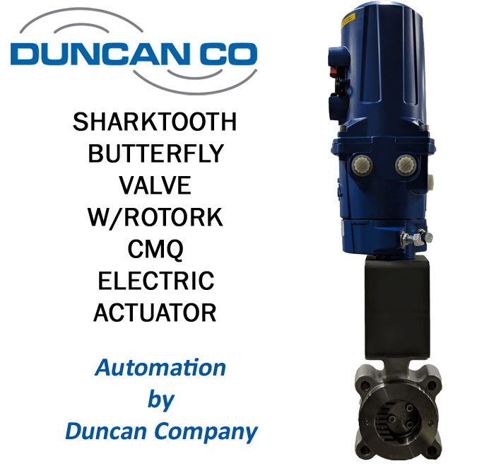 SHARKTOOTH VALVE FOR MORE INFORMATION CONTACT US AT WWW.DUNCANCO.COM