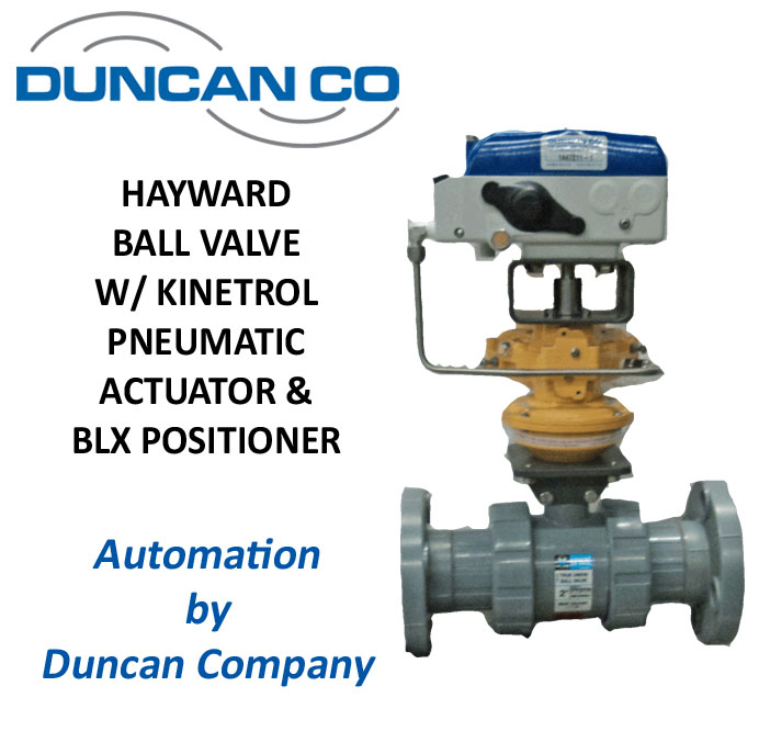 HAYWARD BLX FOR MORE INFORMATION CONTACT US AT WWW.DUNCANCO.COM