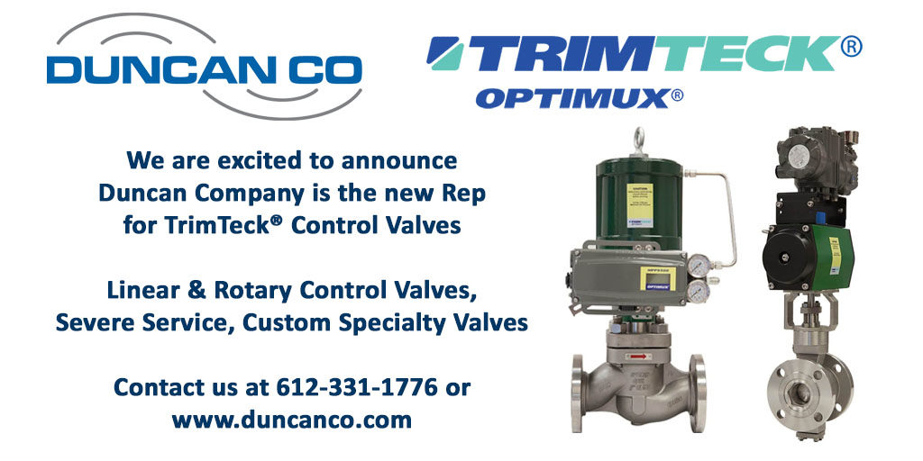 TRIMTECK FOR MORE INFORMATION CONTACT US AT WWW.DUNCANCO.COM