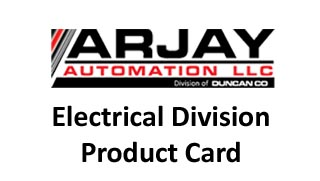 Arjay Electrical Division for more information contact us at www.duncanco.com