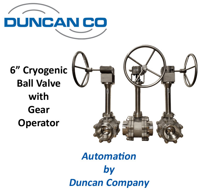 HABONIM CRYOGENIC BALL VALVES FOR MORE INFORMATION CONTACT US AT WWW.DUNCANCO.COM